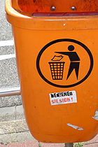 Leben im Müll